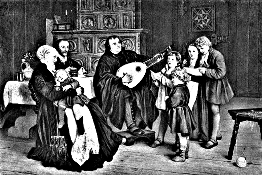 luther family music